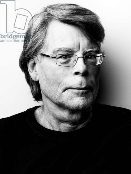 Portrait of Stephen King - October 2013