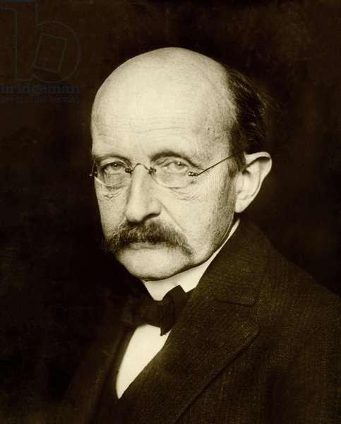 Max Planck, 1933 (b/w photo)