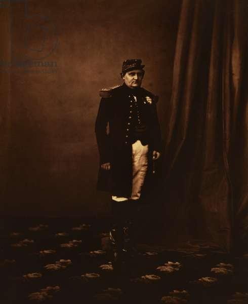 Prince Napoleon, 1855 (sepia photo)