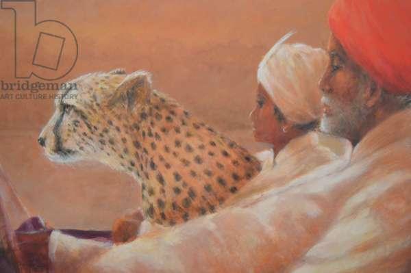 Maharaja, Boy and Cheetah 2