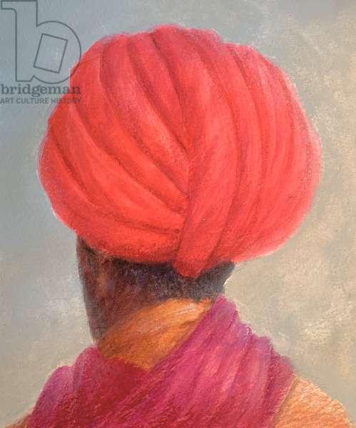 Red Turban Yellow Jacket