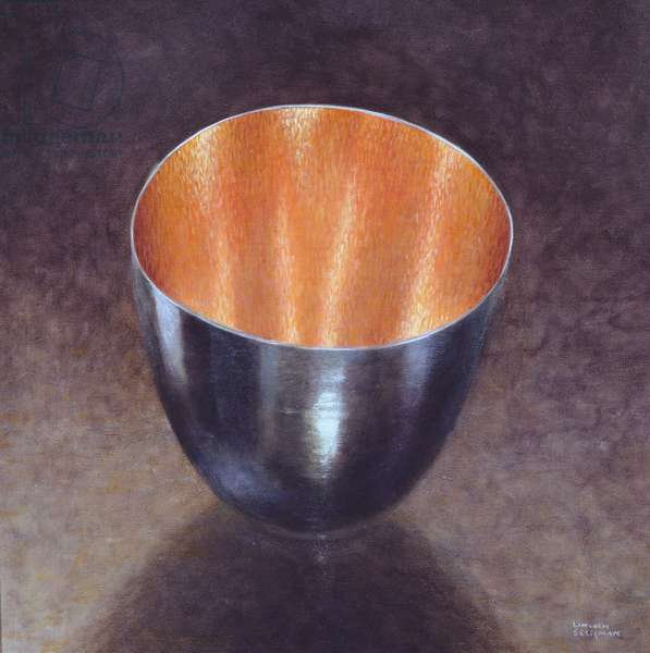 Steel Bowl, 2005 (acrylic)