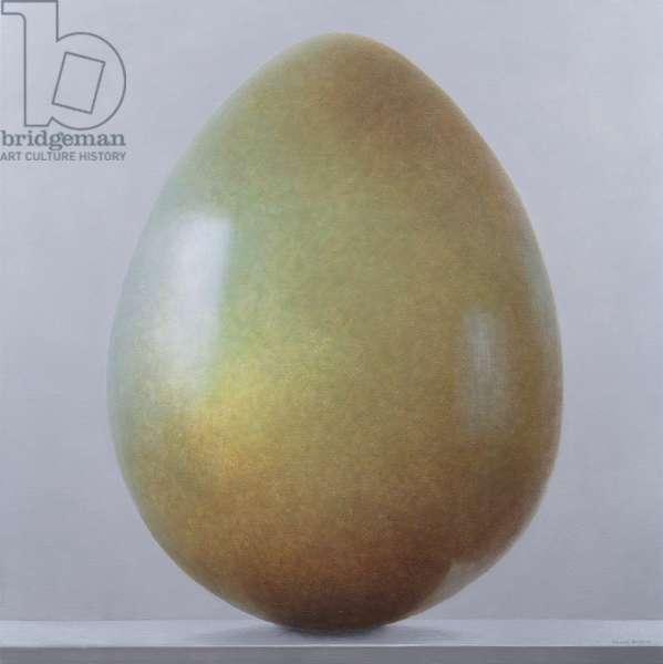 Bronze age Egg (acrylic on canvas)