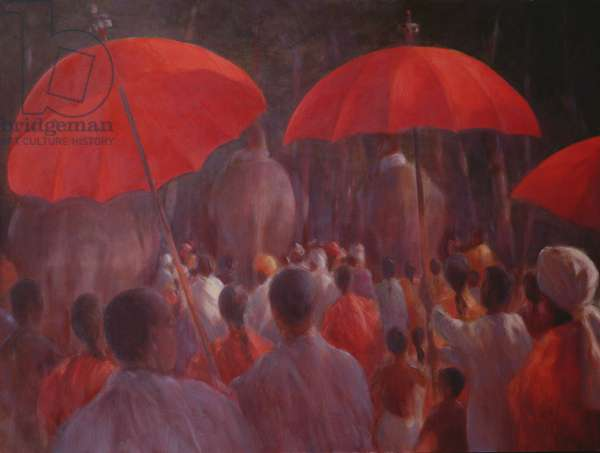 Parade (oil on canvas)