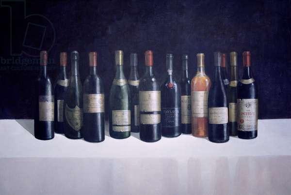 Winescape, 1998 (acrylic on board)