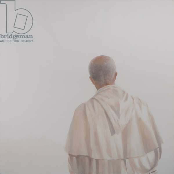 Monk, Sant'Antimo I, 2012 (acrylic on canvas)