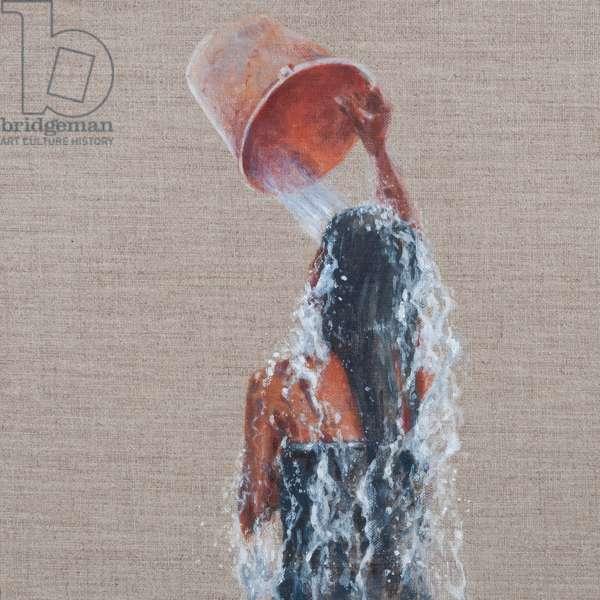 Girl Bathing, 2012 (acrylic on canvas)