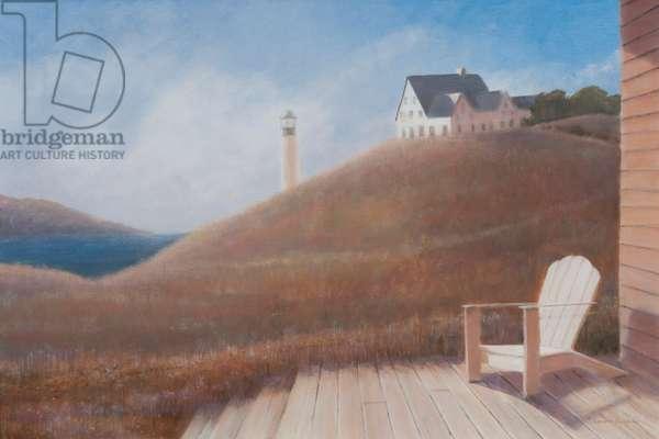 Maine landscape, 2012 (acrylic on canvas)
