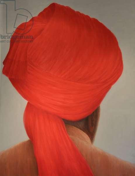 Big Red Turban