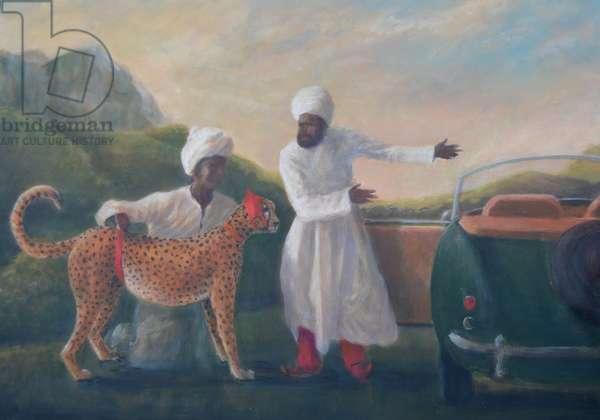 Stubbs Cheetah and Jaguar