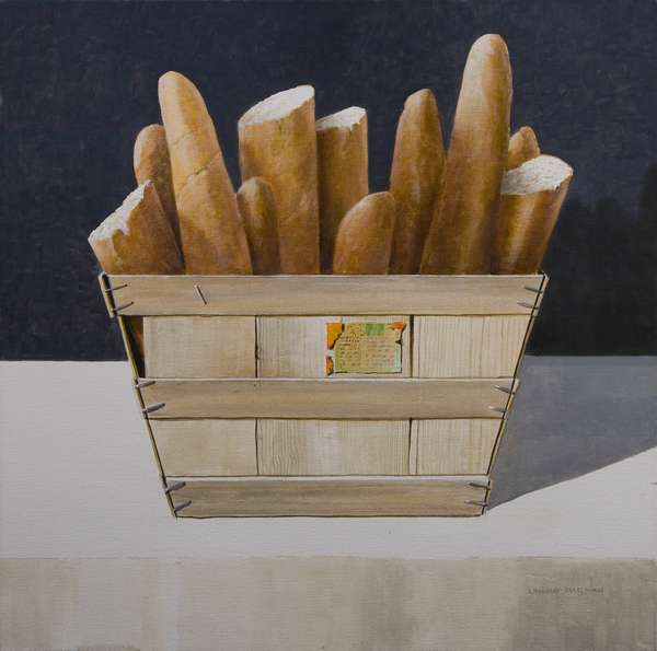 Baguettes, 2010 (acrylic on canvas)