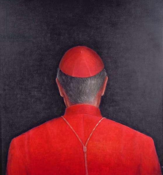 Cardinal, 2005 (acrylic)