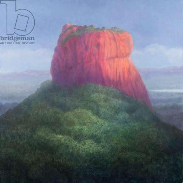Sigiriya I, Sri Lanka, 2012 (acrylic on canvas)