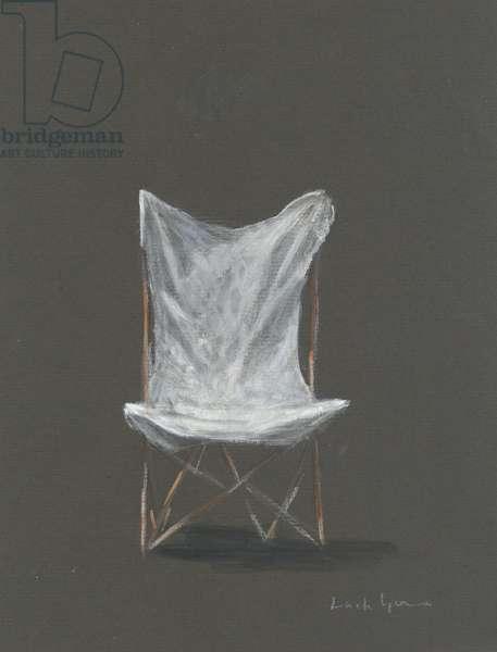 Deck Chair (acrylic on canvas)