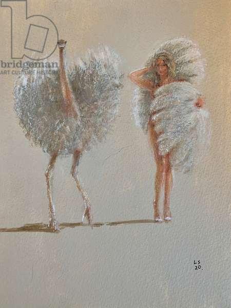 White Ostrich Ballet
