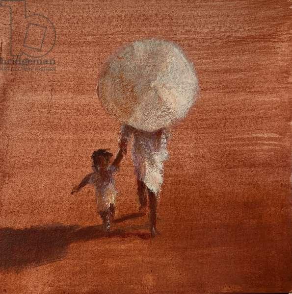 Mother + Umbrella