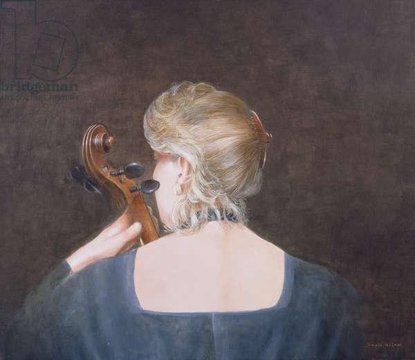Cello Professor, 2005 (acrylic)