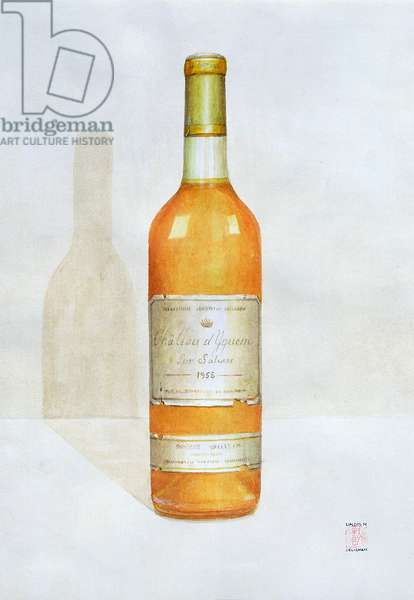Chateau d'Yquem, 2003 (acrylic on paper)