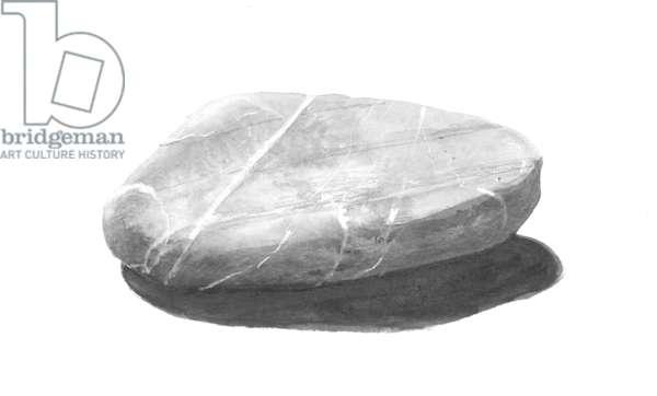 Stone (acrylic on paper)