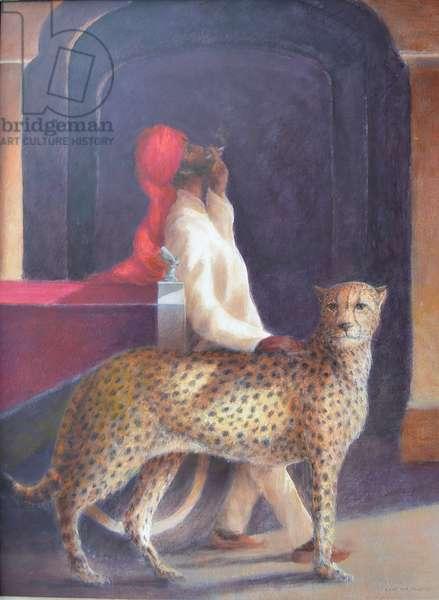 Chauffeur + cheetah