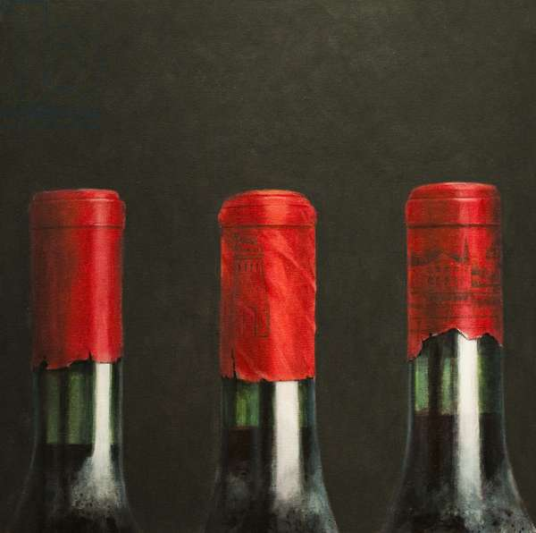 Three Wines, 2010 (acrylic on canvas)