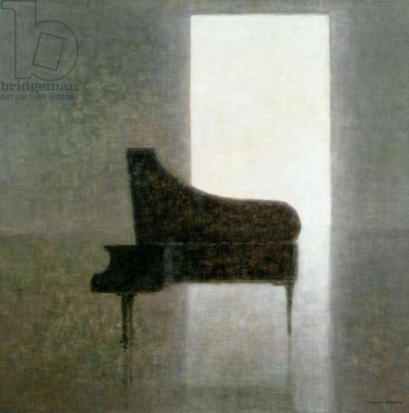Piano Room, 2005 (acrylic)