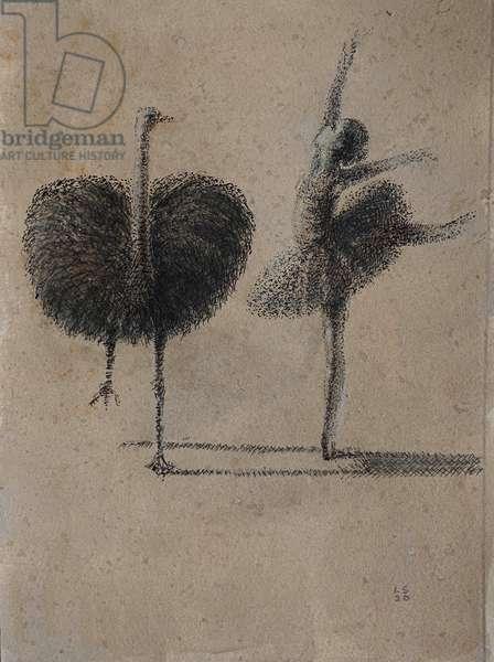 Rembrandt's Ostrich