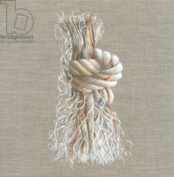 Rope Knot (acrylic on paper)