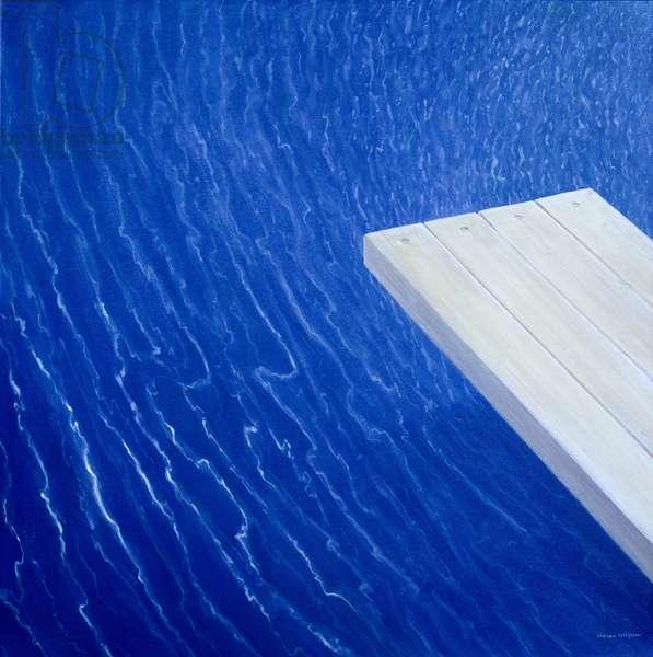 Diving Board, 2004 (acrylic)