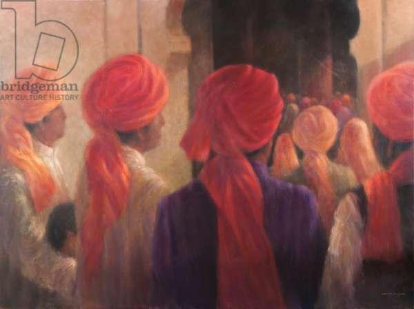 Temple Steps, 2012 (acrylic on canvas)