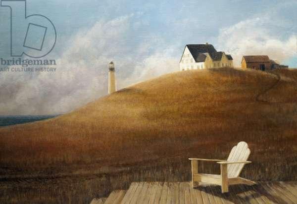 Maine Landscape, 2010 (acrylic on canvas)