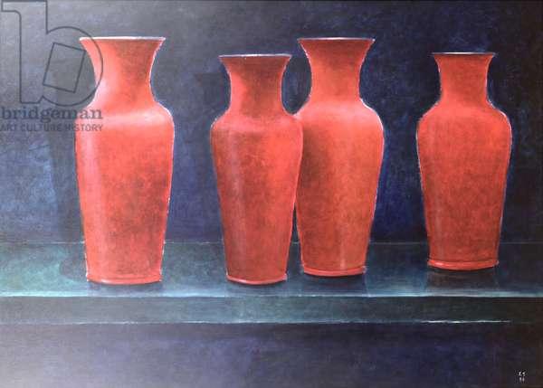 Red Pots, 1988