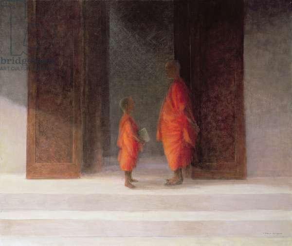 Teacher, 2005 (acrylic on canvas)