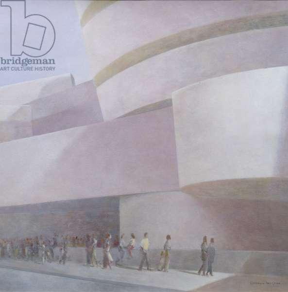 Guggenheim Museum, New York, 2004 (acrylic on canvas)