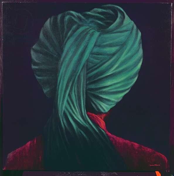 Green Turban (oil on canvas)