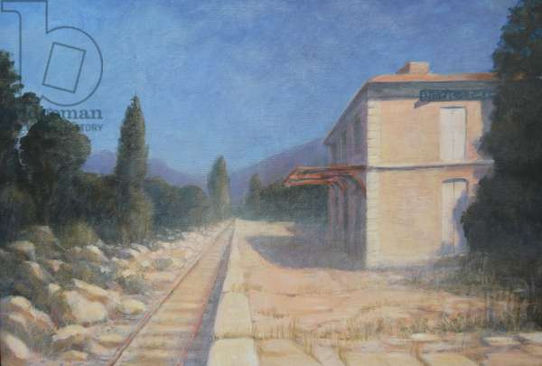 Entraigues Station, Provence