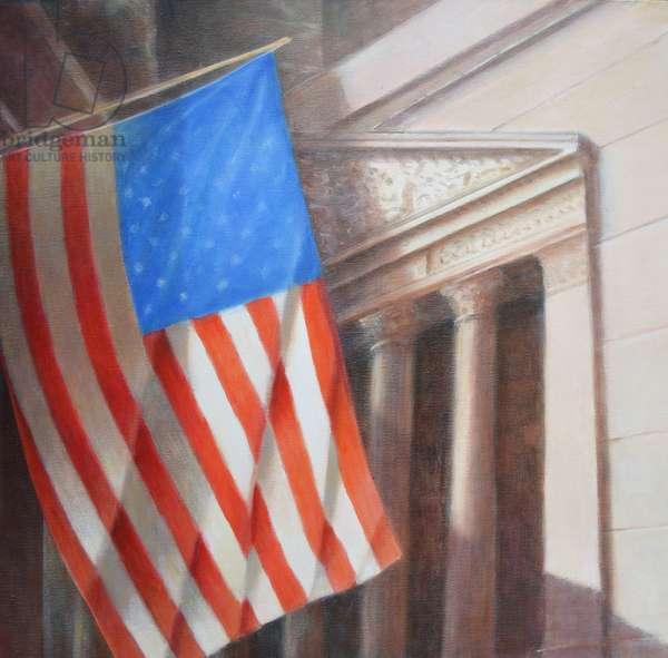 Stars & Stripes, N.Y. Stock Exchange