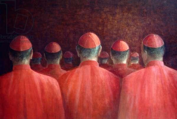 Cardinals, 2005 (acrylic)