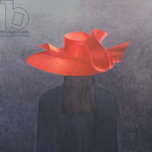 Red Hat, 2004 (acrylic on canvas)
