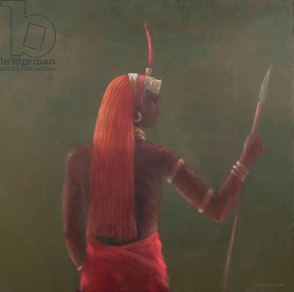 Samburu, 2012 (acrylic on canvas)
