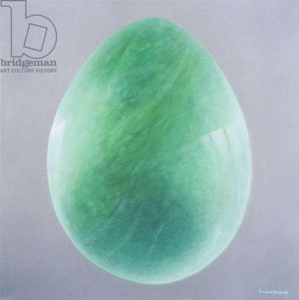 Jade Egg, 2014 (oil on canvas)