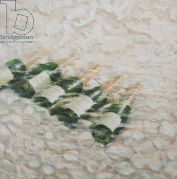 Champagne Cooling, 2012 (acrylic on canvas)