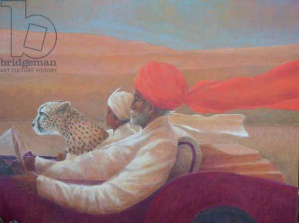 Maharaja, Boy and Cheetah 1