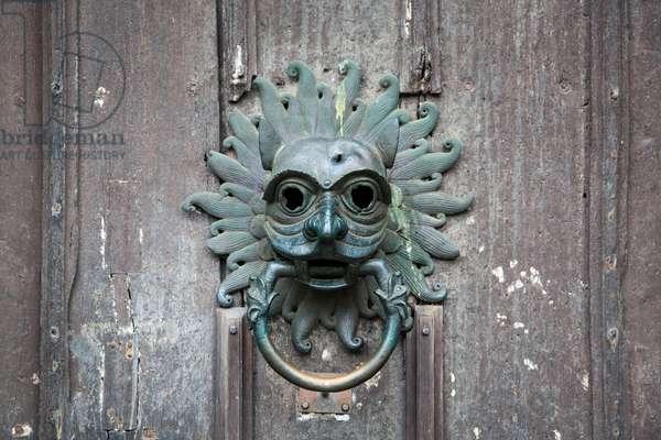 The Sanctuary Knocker, Durham Cathedral, Durham, UK (photo)