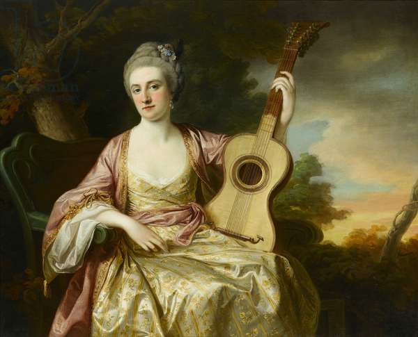 Portrait of Maria Walpole, 1765 (oil on canvas)
