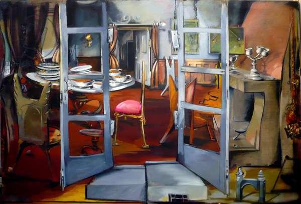 Roomeramma Tea, 1983 (oil on canvas)