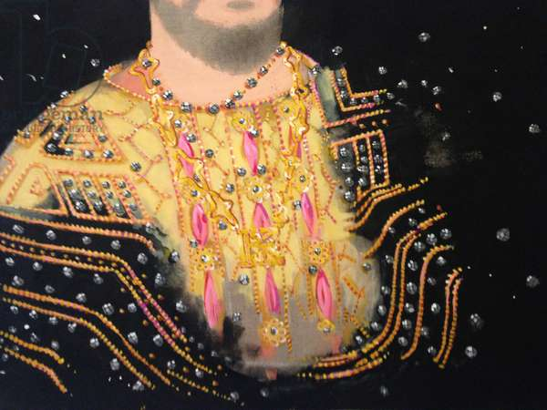 Bling King, 2007 (oil on canvas)