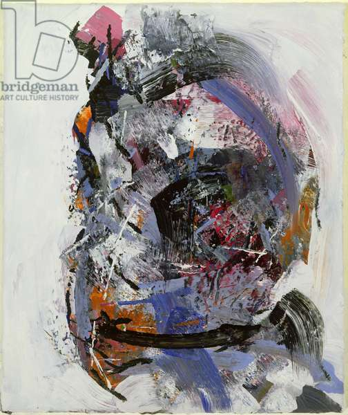 Head of a woman, 1992 (oil on canvas)