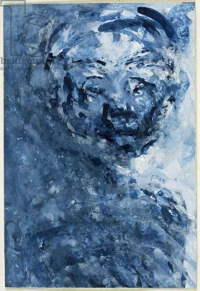 Marlene Dietrich, 2000 (w/c on paper)