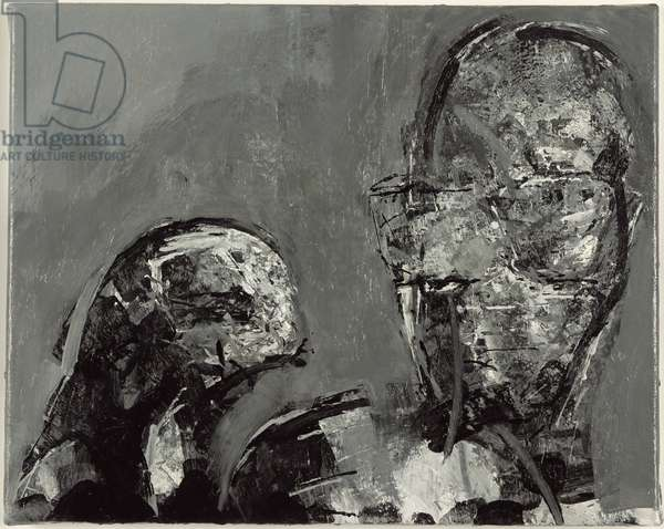 Gill Bastedo and Stephen Finer, 1998 (oil on canvas)